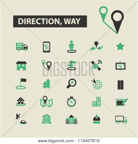 direction, way icons, direction, way logo, direction, way vector, direction, way flat illustration concept, direction, way infographics, direction, way symbols,