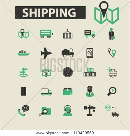 shipping icons, shipping logo, shipping vector, shipping flat illustration concept, shipping infographics, shipping symbols,