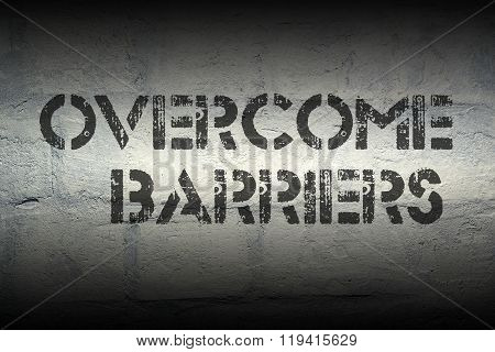 Overcome Barriers Gr