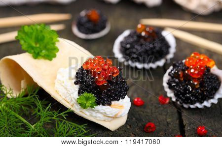 Caviar On The Buffet