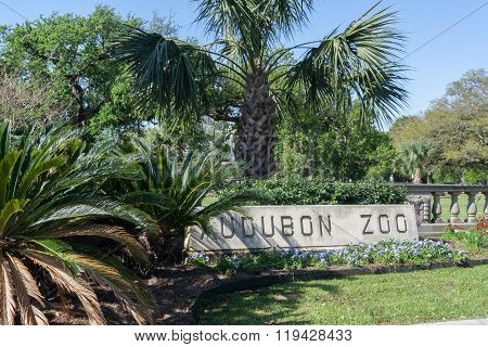 New Orleans, La/usa - Circa March 2009: Audubon Zoo In New Orleans,  Louisiana