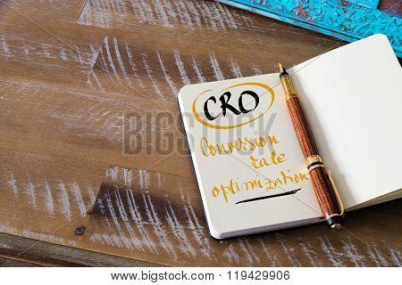 Business Acronym Cro Conversion Rate Optimization