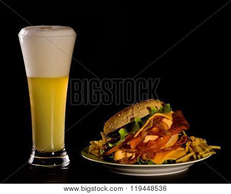 Beer And Burger
