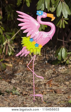 Flamingo Yard Stake