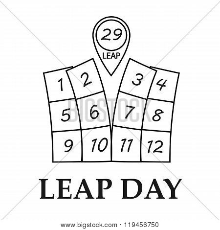 Leap day illustration