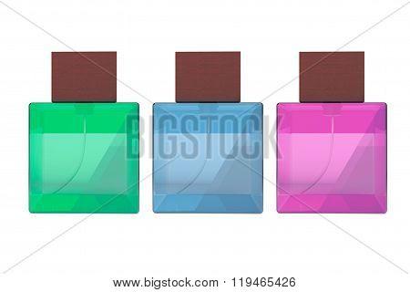 Multicolour Perfume Spray Bottles