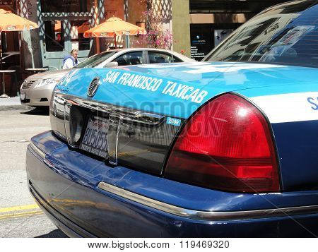 Mercury Grand Marquis Gs. San Francisco Taxicab