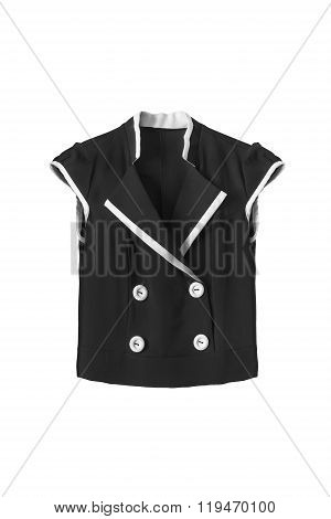 Black Top Isolated
