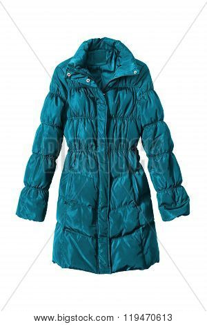 Down Coat Isolated