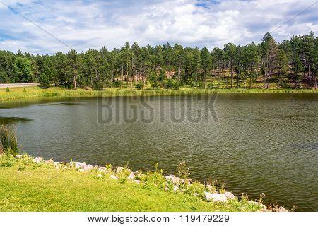 Stockade Lake In Custer State Park