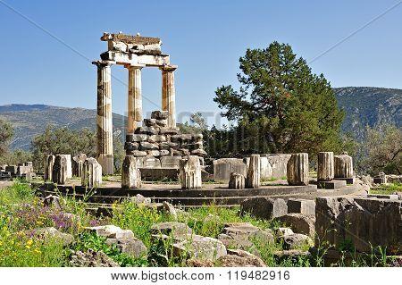 Tholos Of Athena Pronoia