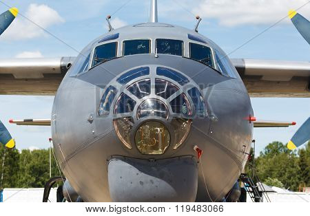 nose jet military plane,