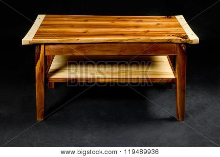 wooden night table
