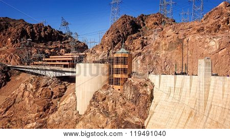 The Visitor Center At Hoover Dam