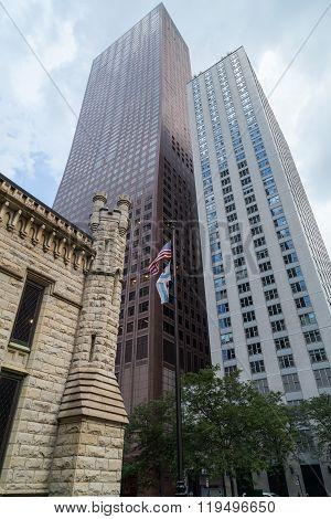 Chicago, Il/usa - Circa July 2015: Scyscrapers Of Near North Side, Chicago,  Illinois