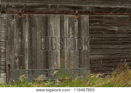Old Barn Door
