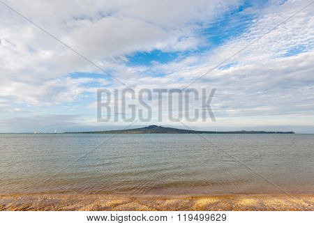 The Beautiful Scene Rangitoto Island, Auckland, New Zealand.
