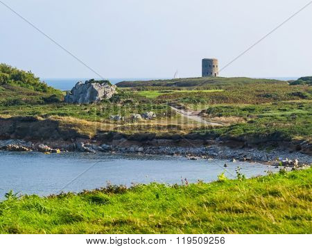 Landscape On The Guernsey Island, Channel Islands