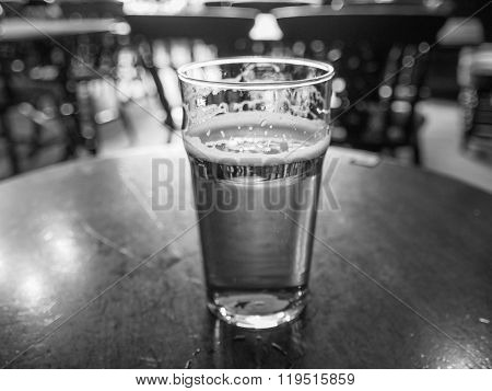 Black And White Ale Beer