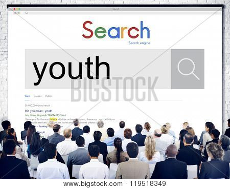 Youth Adolescence Childhood Generation Young Concept