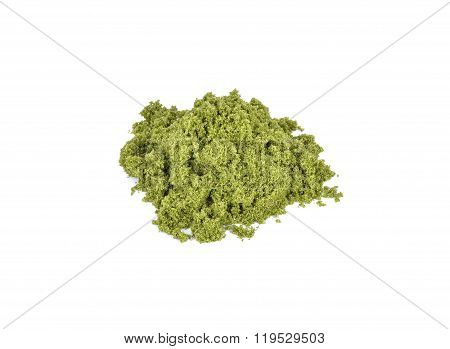 Wolffia Globosa Or Fresh Water Alga, Water Meal, Swamp Algae.