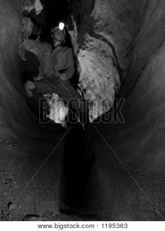 Caver Exploring