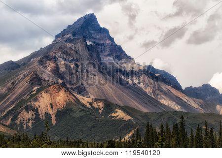 Skookum Volcano In The Wrangell Mountains