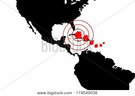 Dangerous Occurrence In Dominican Republic And Cuba