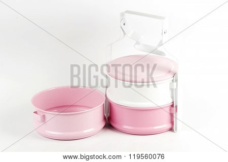 Color Full Three Tier Food Container