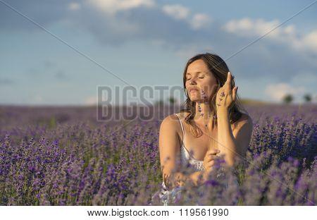 Enjoying The Fragrance