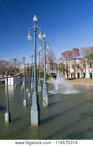 Louis Armstrong Park In New Orleans,  Louisiana