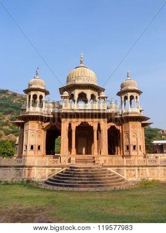 Royal Cenotaphs In Jaipur, Rajasthan, India