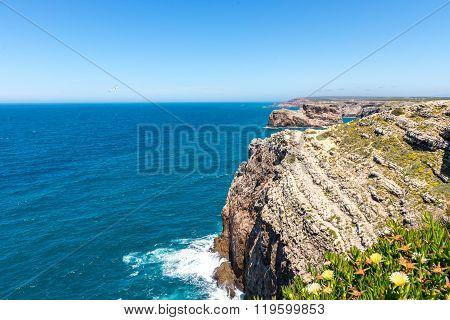 Saint Vincent Cape, Sagres, Algarve, Portugal