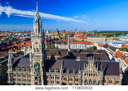 The New Town Hall, Munich, Bavaria, Germany