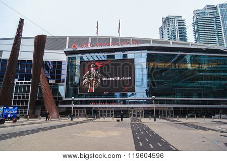 Entrance of Air Canada Centre (ACC).