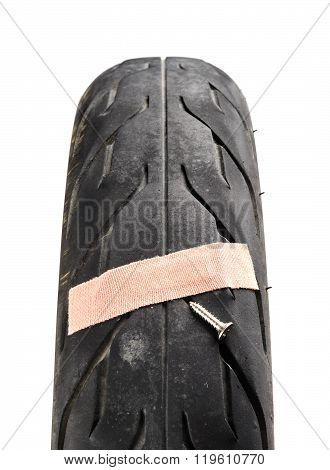 Damage Tire