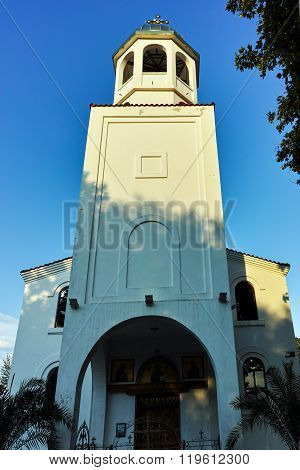 Saints Cyril and Methodius church where the relics of St. John the Baptist, Sozopol Town