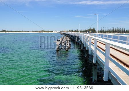 Busselton Jetty with Jetty Remains