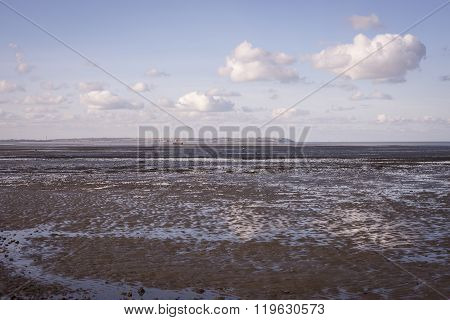 Seasalter Beach A Low Tide