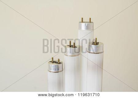 Selected Focus Fluorescent Light Tube