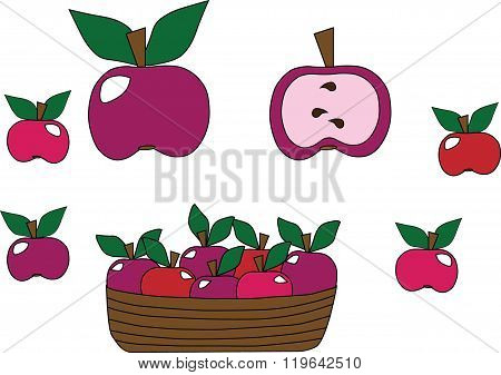 Apples In A Set