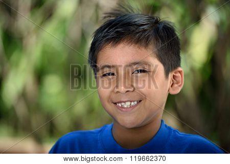 Smiling Latino Boy