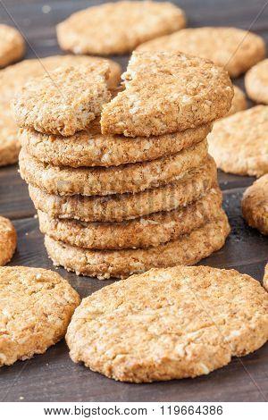 Grain Round Cookies