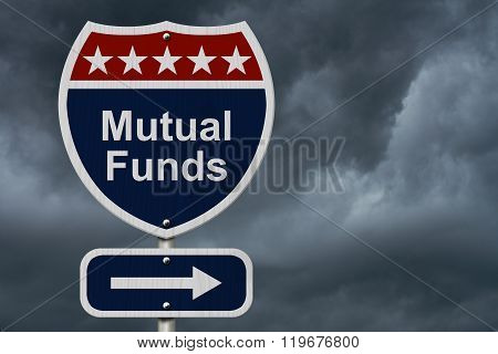 American Mutual Funds Highway Road Sign