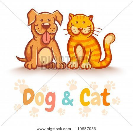 cat and dog for pets shop