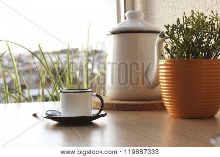 Xícara de café da tarde