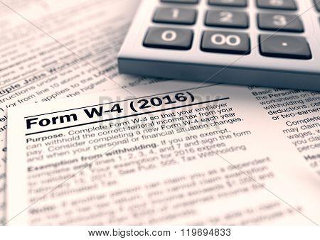 Usa Taxes Concept