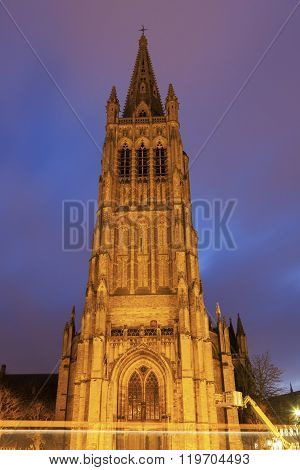 Saint Martin's Church In Ypres