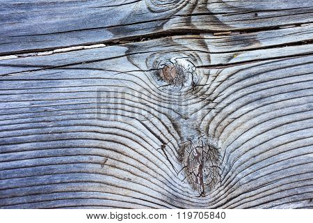 Old, Weathered Wooden Board