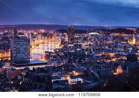 Panorama Of Liege